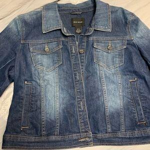 DKNY Jean Jacket Size XL